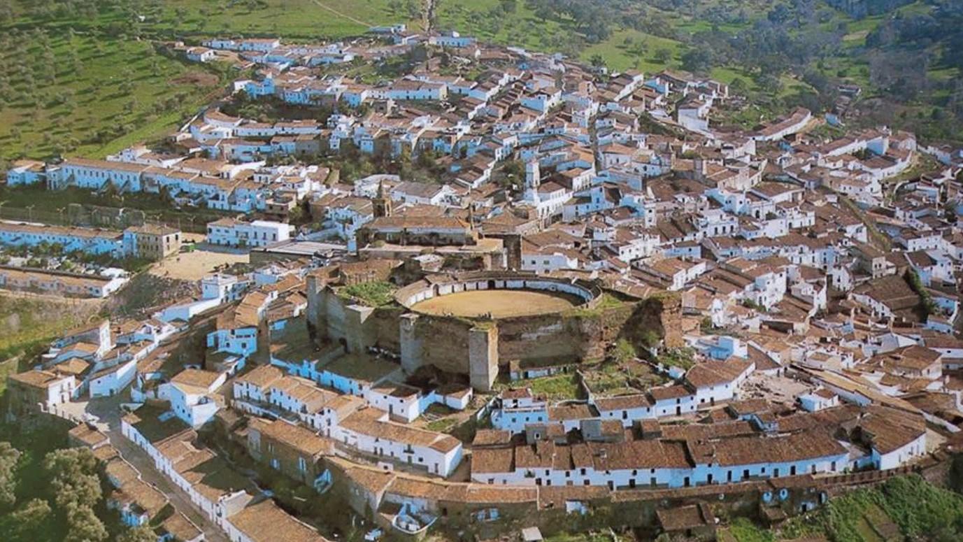 Aroche, Sierra Morena, Andalucía
