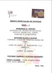 Guiarural. Navidad en Miraflores de la Sierra. menus01.jpg