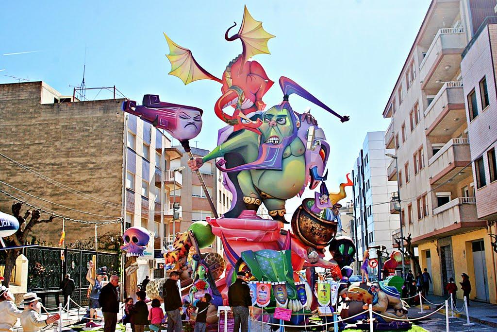 Fallas de Benicarlo, Castellón